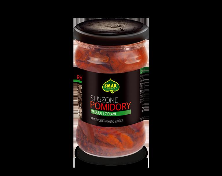 Suszone pomidory z ziołami