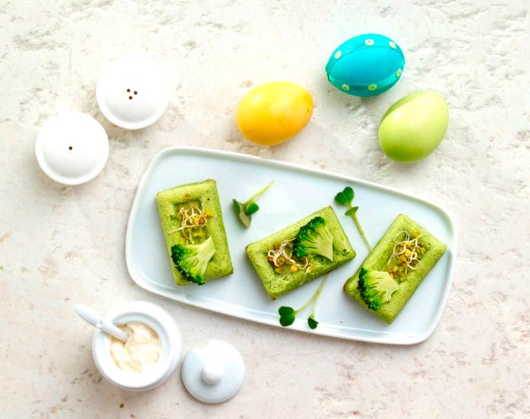 Zielona terrina z brokułów