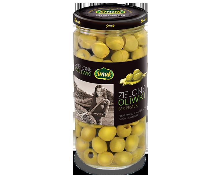 Oliwki zielone bez pestek