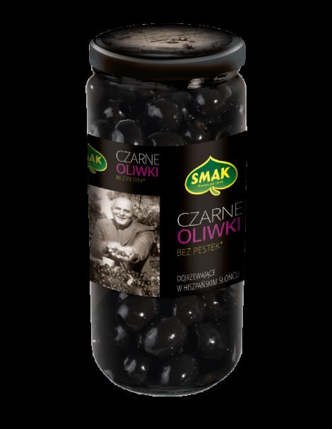 Czarne oliwki bez pestek