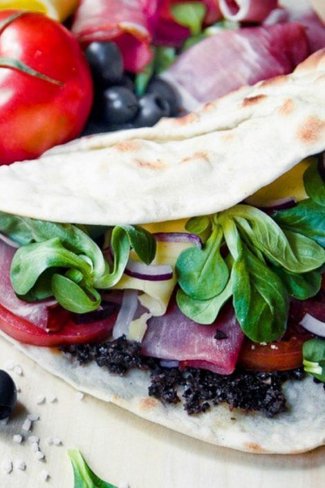 Piadina – włoski przysmak