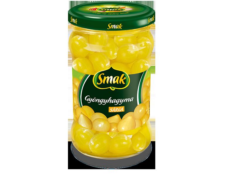 Sárga gyöngyhagyma