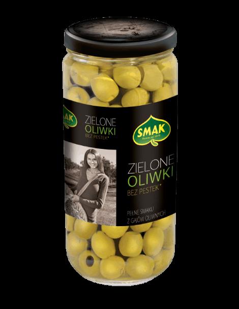 Zielone oliwki bez pestek