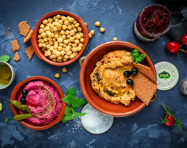 Hummus bowl z warzywami